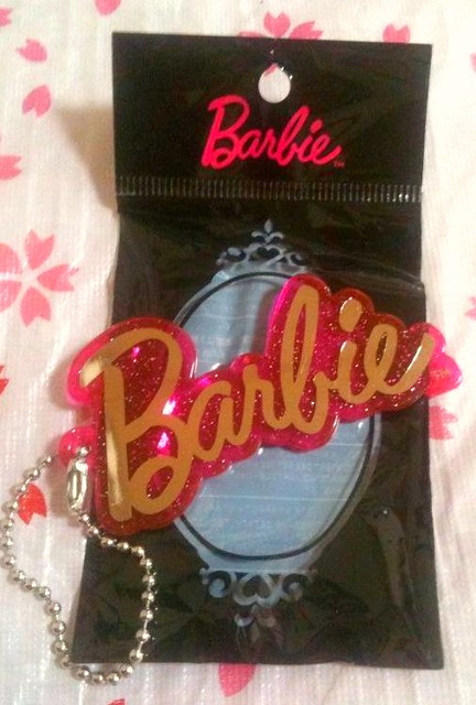 Barbie for Uniqlo Keychain