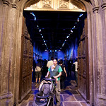 Rosie & George at the Entrance to the Great Hall