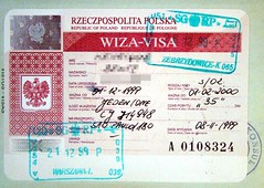 Poland: visa and stamps (Sem Paradeiro) Tags: stamps poland passport visa allrightsreserved donotusewithoutpermission henriquebente