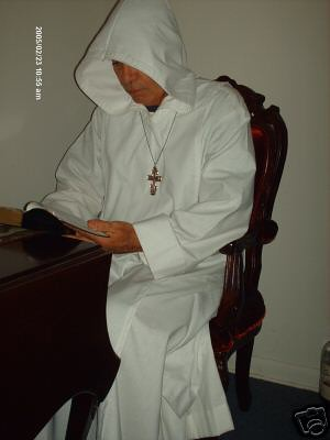 White Benedictine Habits