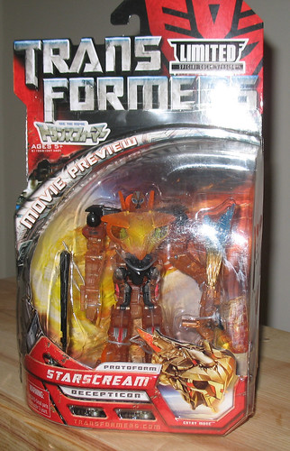TF Movie Fusion Cluster Protoform Starscream (Takara exclusive)
