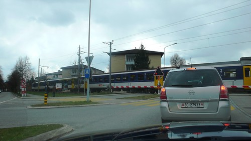 Langendorf - Train crossing Solothurn-Moutier