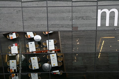 MareMagnum (kosmolaut) Tags: barcelona above city caf canon spain spiegel shoppi