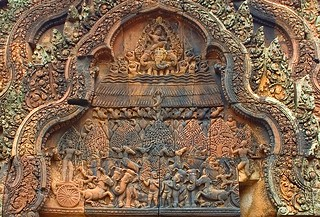 Indra, god of the sky