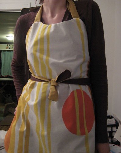 apron close-up