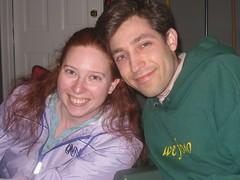 Paul and I at Alisha's party