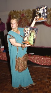 Angie Davidson auctions off 2 signed Bollywood Dolls