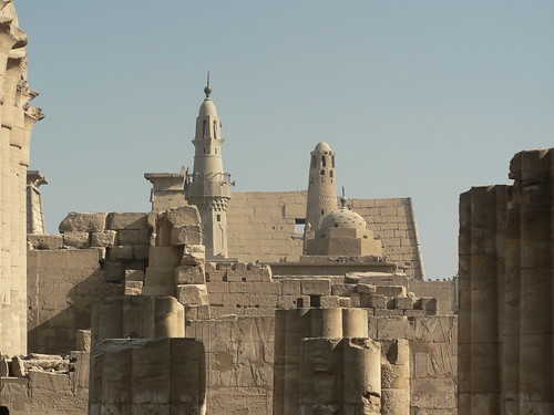 Abu Al-Haggag Mosque at the Luxor Temple