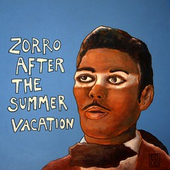 zorro after the summer vacation (edartr) Tags: summer vacation white painting sold 2006 characters update yesterday zorro suntattoo dondiegodelavega
