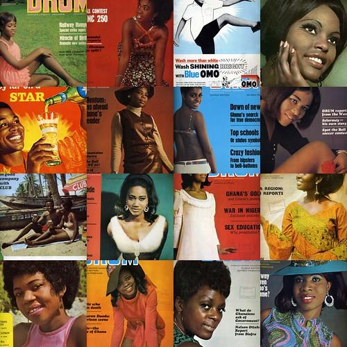 drum magazine 1969 collage covers