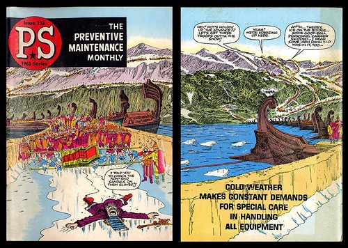 Preventive Maintenance Monthly Issue 133, 1963 (Will Eisner)