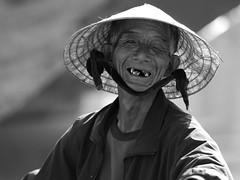 "Still smiling (SLpixeLS) Tags: street old portrait man asia teeth vietnam hoian asie rue dents homme bwemotions vieil aplusphoto diamondclassphotographer flickrdiamond blackwhiteaward platinumheartaward earthasia flickrestrellas ""worldwide travelogue"""