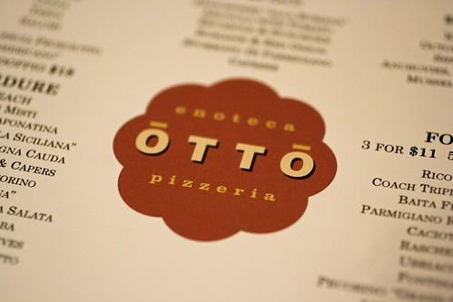 Otto's menu