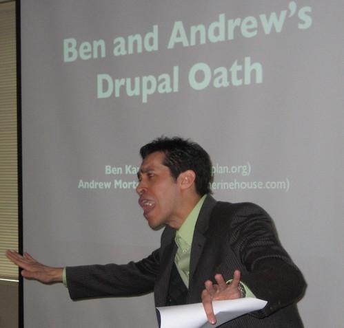 Drupal Oath