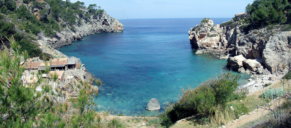 Cala Deia Panorámica by Astexisco, on Flickr