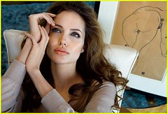 Angelina Jolie does Vanity Fair july