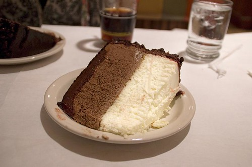 Junior's Chocolate Mousse Cheesecake - Brooklyn, NY