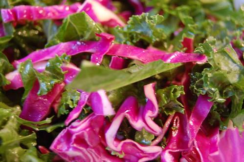 cabbage kale slaw