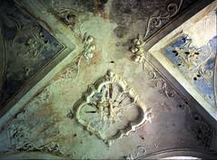 Gerace: there was a vault... (Giorgio Verdiani) Tags: film church stone mediumformat 645 pentax chiesa reggiocalabria convento 6x45 pietra convent calabria 400asa pentax645 pelicola gerace medioformato tesidilaurea degreethesis