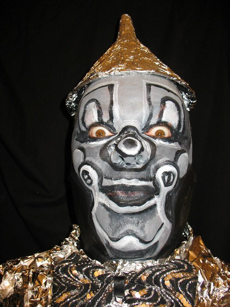 Tin Man Face Paint Wizard Of Oz