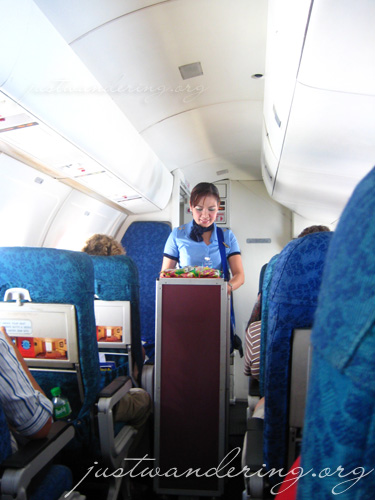 This place actually has a flight attendant onboard