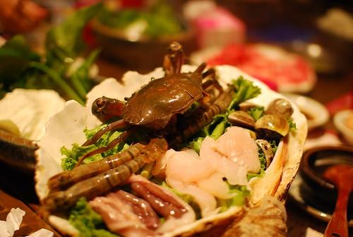 現撈海鮮鍋