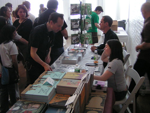 Fantagraphics at the MoCCA Art Festival, 06/07/08