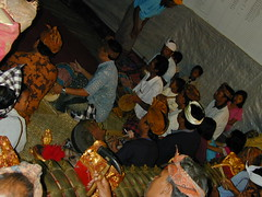Celebration in a Temple with Gamelan