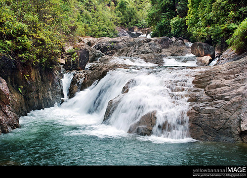 Berkelah  waterfall 02