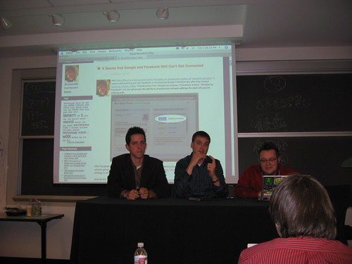 """Whose Social Graph?"" panel at Supernova"