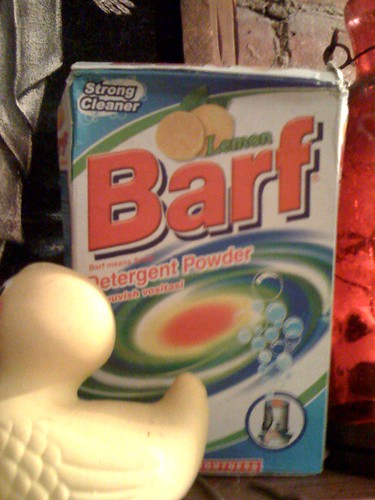 'Barf means snow'