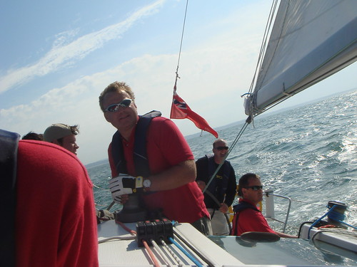 Yacht racing in The Solent
