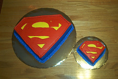 Superman Birthday Cake & Smash Cake