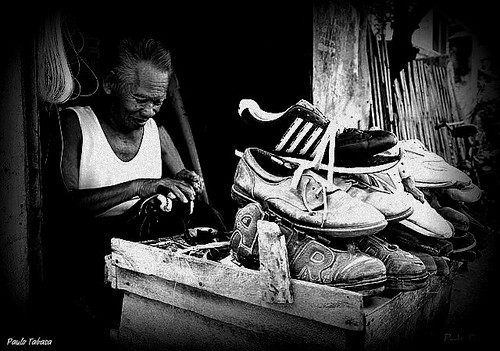 Negros Occidental shoe repair tanjay Pinoy Filipino Pilipino Buhay  people pictures photos life Philippinen  菲律宾  菲律賓  필리핀(공화국) Philippines