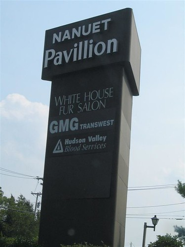 Nanuet Pavillion sign