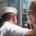Hugging a sailor by Needs a hug