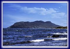 Azul y nubes (Gins S.@Fotografias) Tags: azul mar olympus murcia cielo nubes olas rocas aguilas e510 supershot cabocope abigfave overtheexcellence