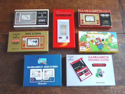 "History of the ""Game & Watch"""