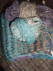 stripey scarf 1