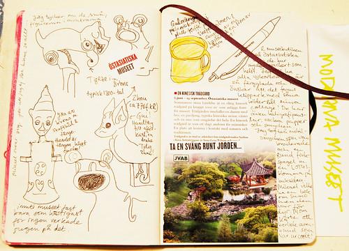 Diary spread