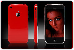 Little Red Devil - iPhone by Photo Giddy
