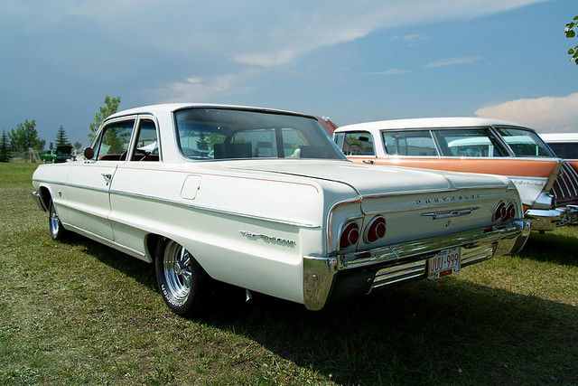 1955 56 57 150 Two-Ten Bel Air Deck Filler Panel Sedan