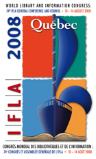 2008 IFLA conference logo