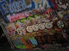 7/30/08 Free Wall (sixheadedgoblin) Tags: skull c spray roller publicart luigi olympiawashington booyah crm naw freewall freewallwide2 sakrd