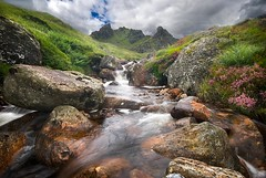 The Cobbler (gms) Tags: uk mountain river scotland waterfall searchthebest cloudy heather peak cobbler corbett hillwalking thecobbler butquitenice