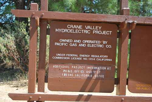 Bass Lake PG&E Crane Valley Hydroelectric Project