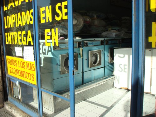 Laundry in Santiago
