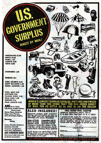 US Government Surplus