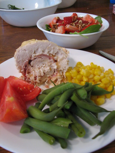 Crockpot Chicken Cordon Bleu