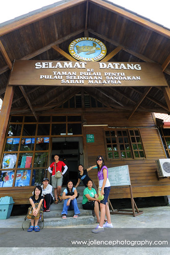 STB staff at Selingan
